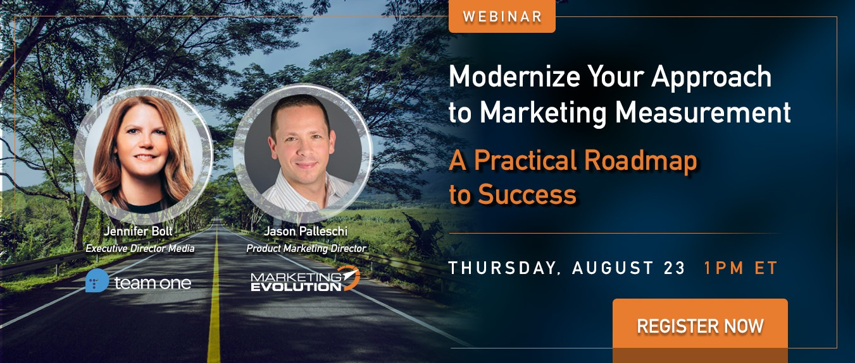 Webinar: Modernize Your Approach to Marketing Measurement