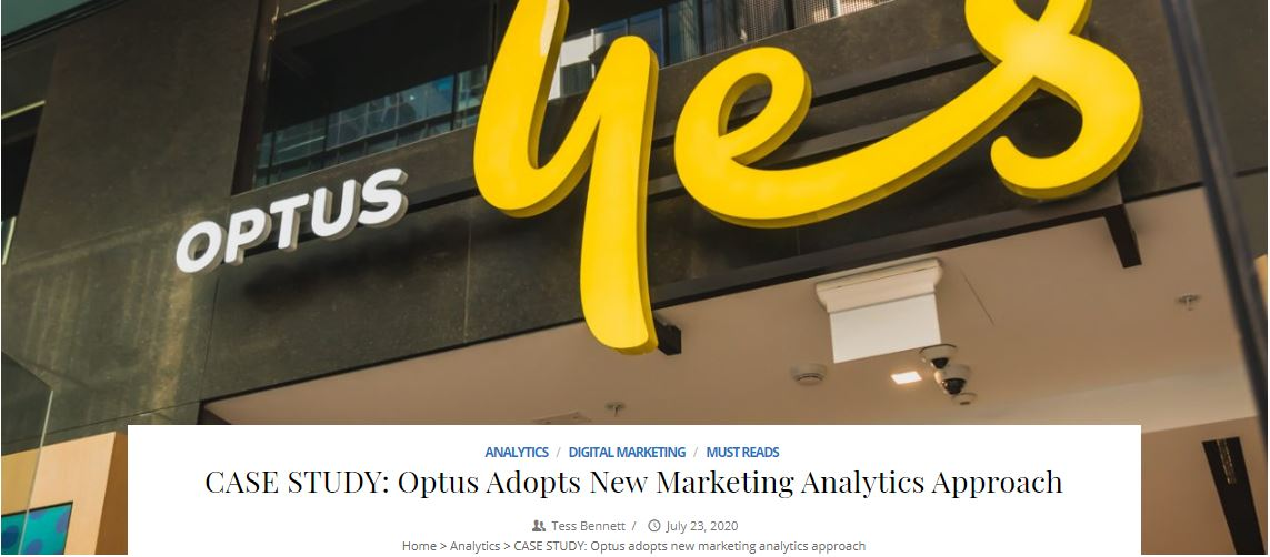 Optus Chooses Marketing Evolution