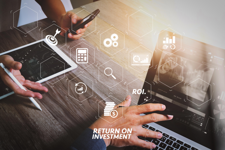 ROI Return on Investment indicator